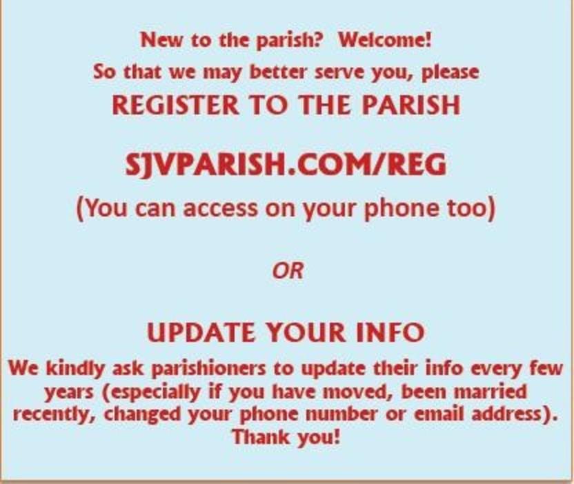 Register To The Parish Rd.lt