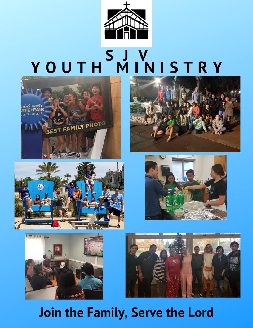 Sjv Youth Ministry