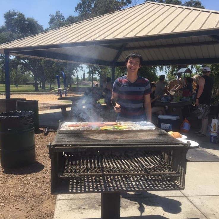 Young Adults Family BBQ 2