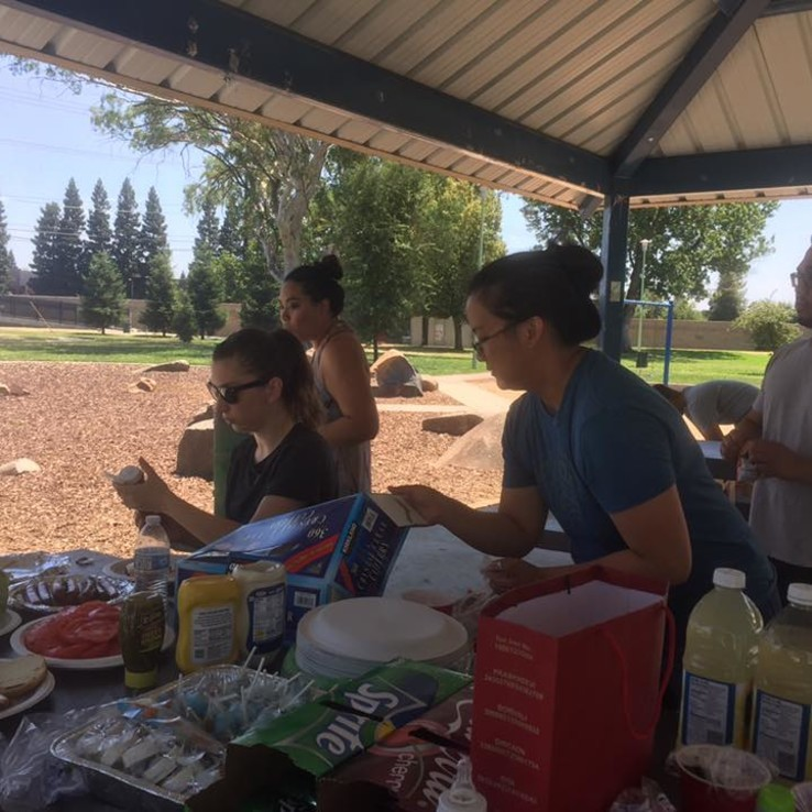 Young Adults Family BBQ 3
