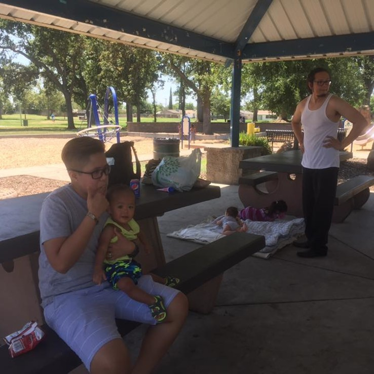 Young Adults Family BBQ 6